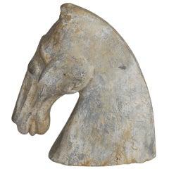 Chinese Han Dynasty Horse Head
