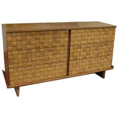 Lovely Paul Laszlo Mid Century Woven Dresser