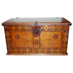 Beautiful 18th Century Spanish Colonial Chest