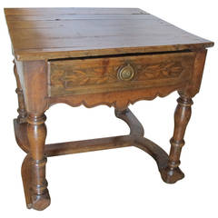 18th Century Baroque Side or End Table