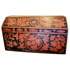 19th Century Mexican Lacquerware Chest