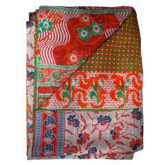 Fantastic Vintage Indian Quilt