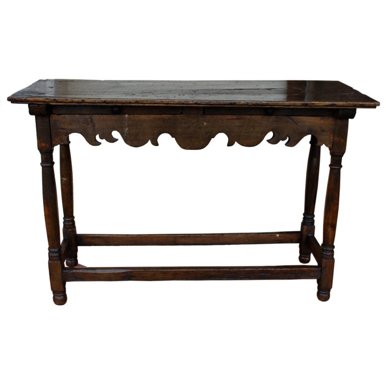 18th Century Spanish Colonial Console Table At 1stdibs