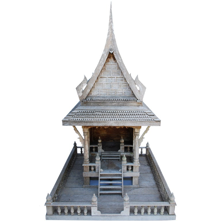 Large asian architectural model at 1stdibs for Architecture models for sale