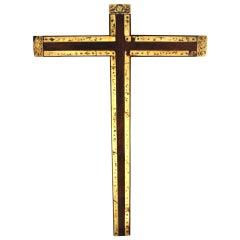 Rare 18th C Mexican Cross Spanish Colonial