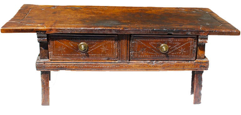 17th Century Spanish Coffee Table At 1stdibs
