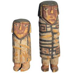 "Very Rare Native American Hopi Kachina's ""Chiefs"""
