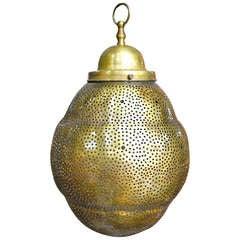 Lovely Moroccan Brass Fixture Pendant