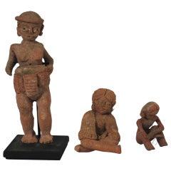 Pre-columbian Xalitla Figures Figures 1200-900 B.C