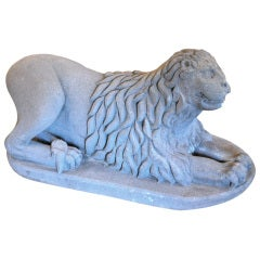 Museum Quality 17th Century Spanish Colonial Lion Sculpture