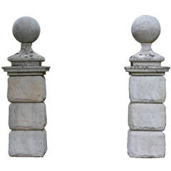 Gate Post Finials, 18th Century