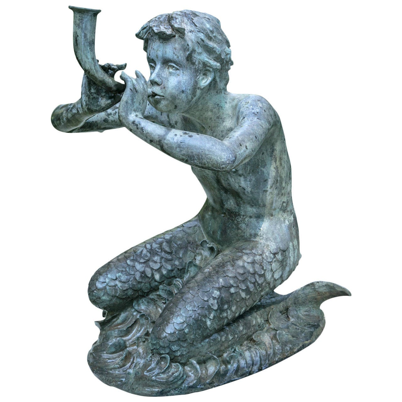 Fountain Figure of Merboy 1