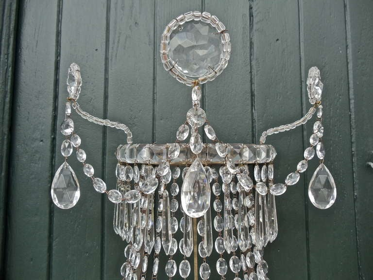 Pair of Swedish Nineteenth Century Wall Sconces