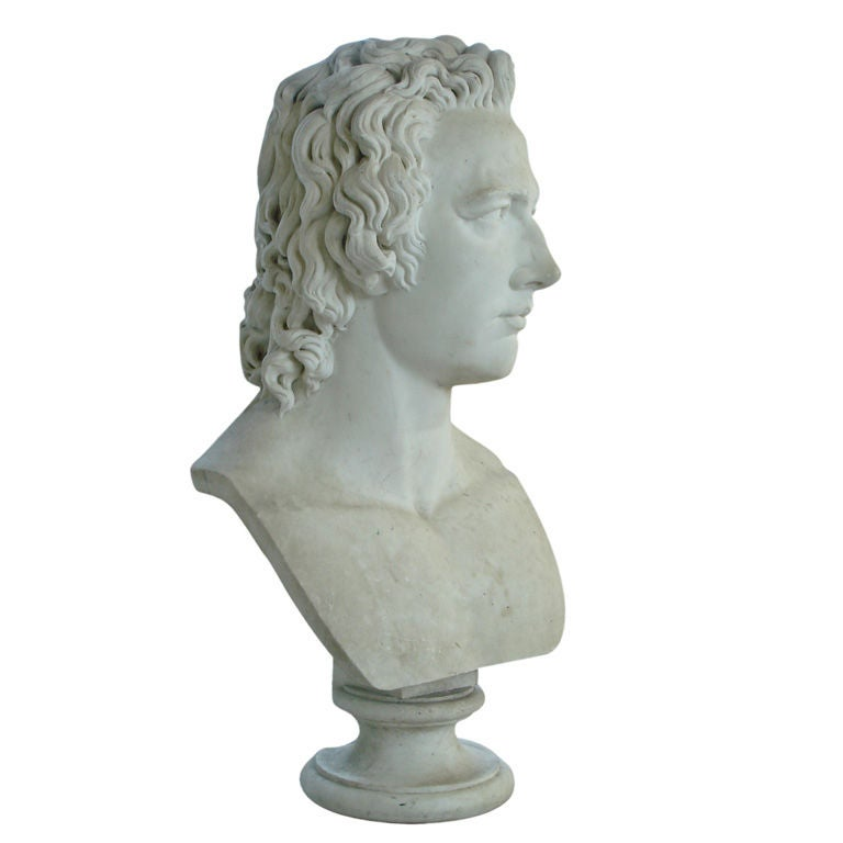 Colossal Marble Bust by Christopher Prosperi