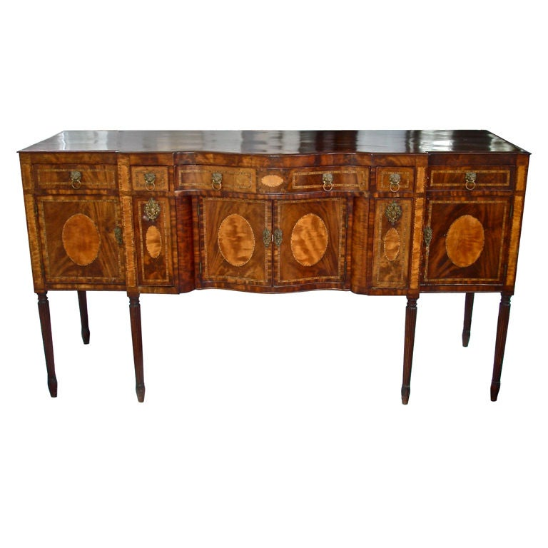 Period new york federal sideboard at 1stdibs for Sideboard york