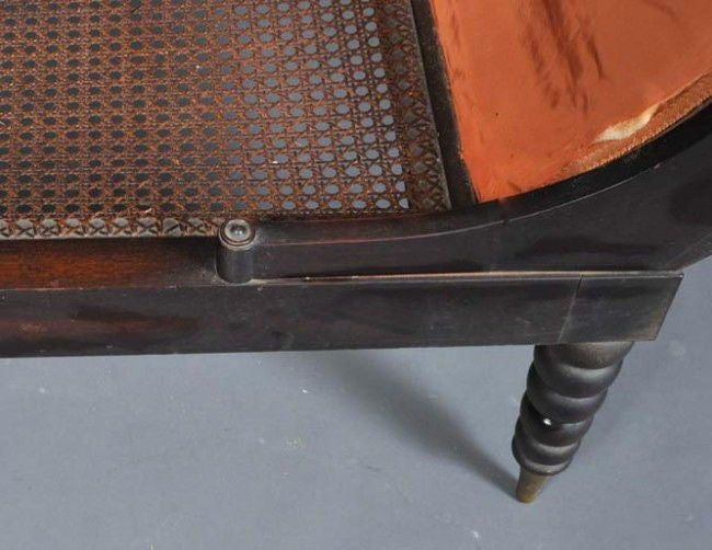 19th Century Fainting Couch Identical to That of Madame Juliette Recamier