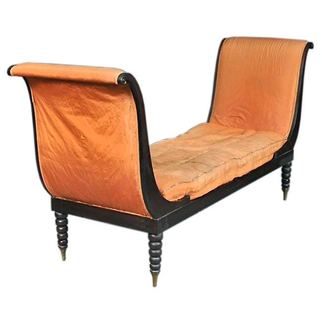 Fainting Couch Identical to That of Madame Juliette Recamier