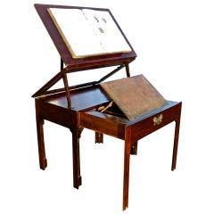 Georgian Period Metamorphic Architect's Table