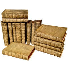 Fifteen Volumes Leather Bound Books of Opera Omnia by Jacobi Gretseri