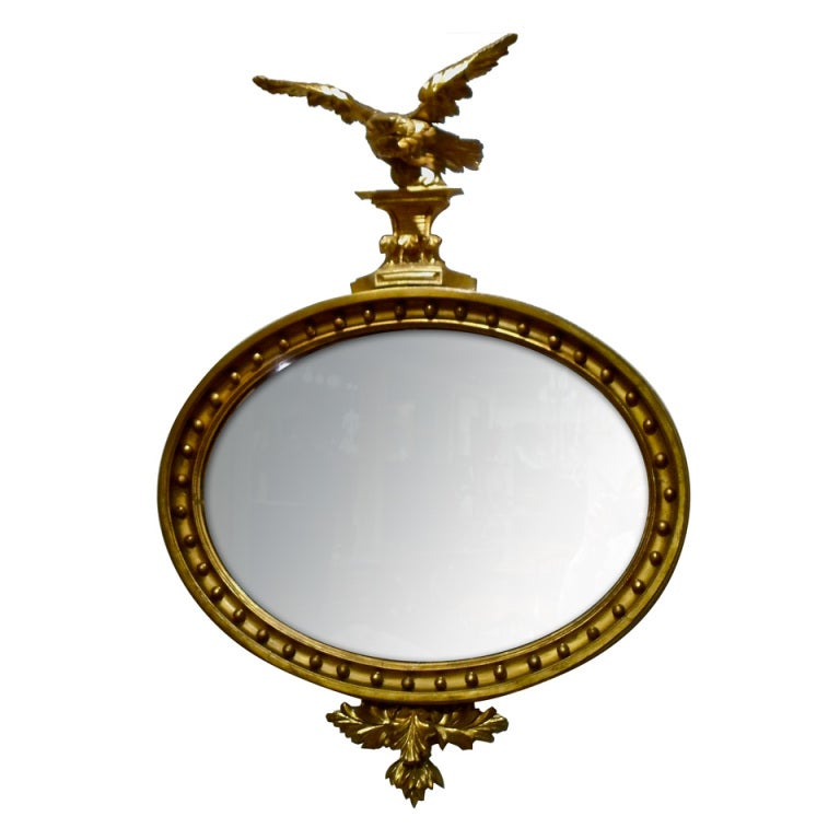 period american gilt wood federal eagle mirror at 1stdibs