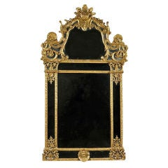 Period Gilded French Regence Mirror