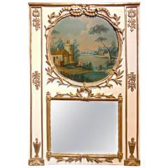 Late 18th Century Trumeau Mirror