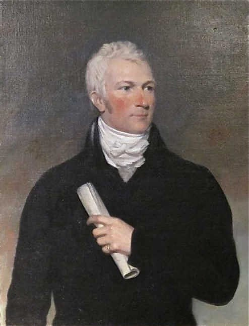 Period Portrait of a Handsome American Gentleman In Excellent Condition For Sale In Essex, MA