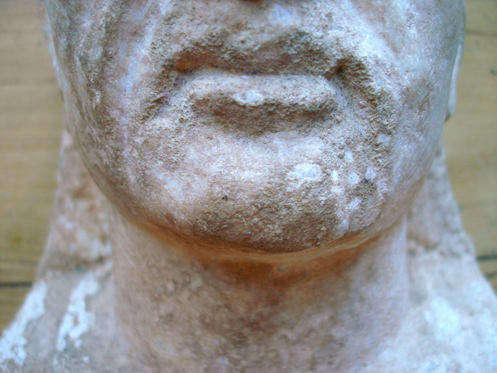 Syrian Ancient Roman Marble Bust of a Man 2nd Century For Sale