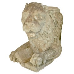 Sandstone Lion of Saint Mark