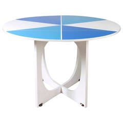 Lacquered Table by Gio Ponti