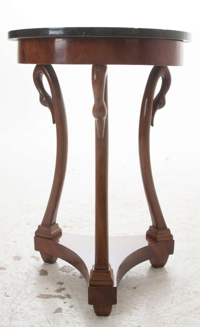 French 19th century empire gueridon side table at 1stdibs for Table gueridon