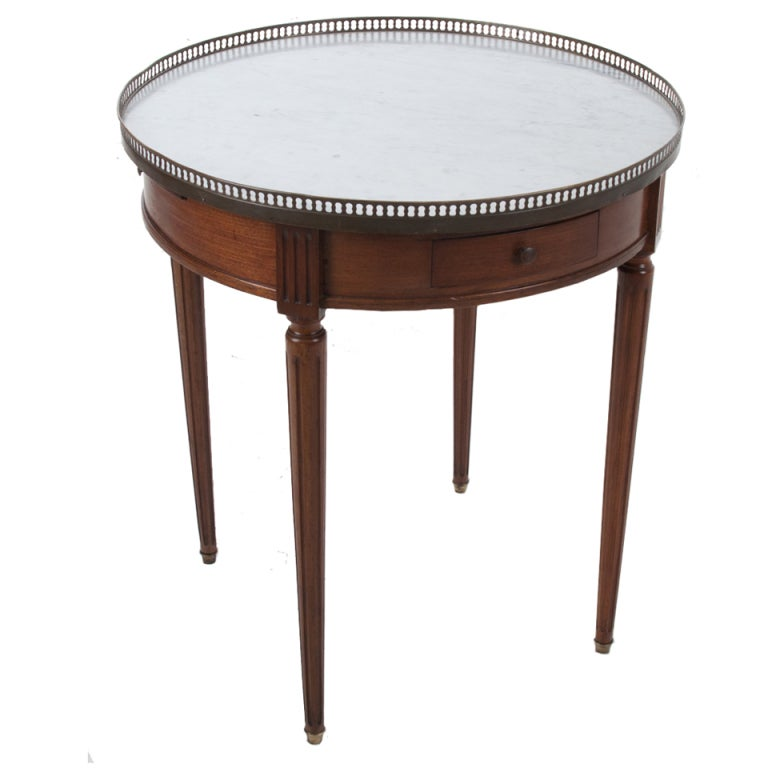 Louis xvi style gueridon bouillotte table at 1stdibs for Table gueridon