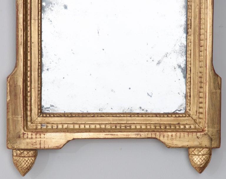 French Louis XVI Style 18th Century Gilt-Wood Mirror