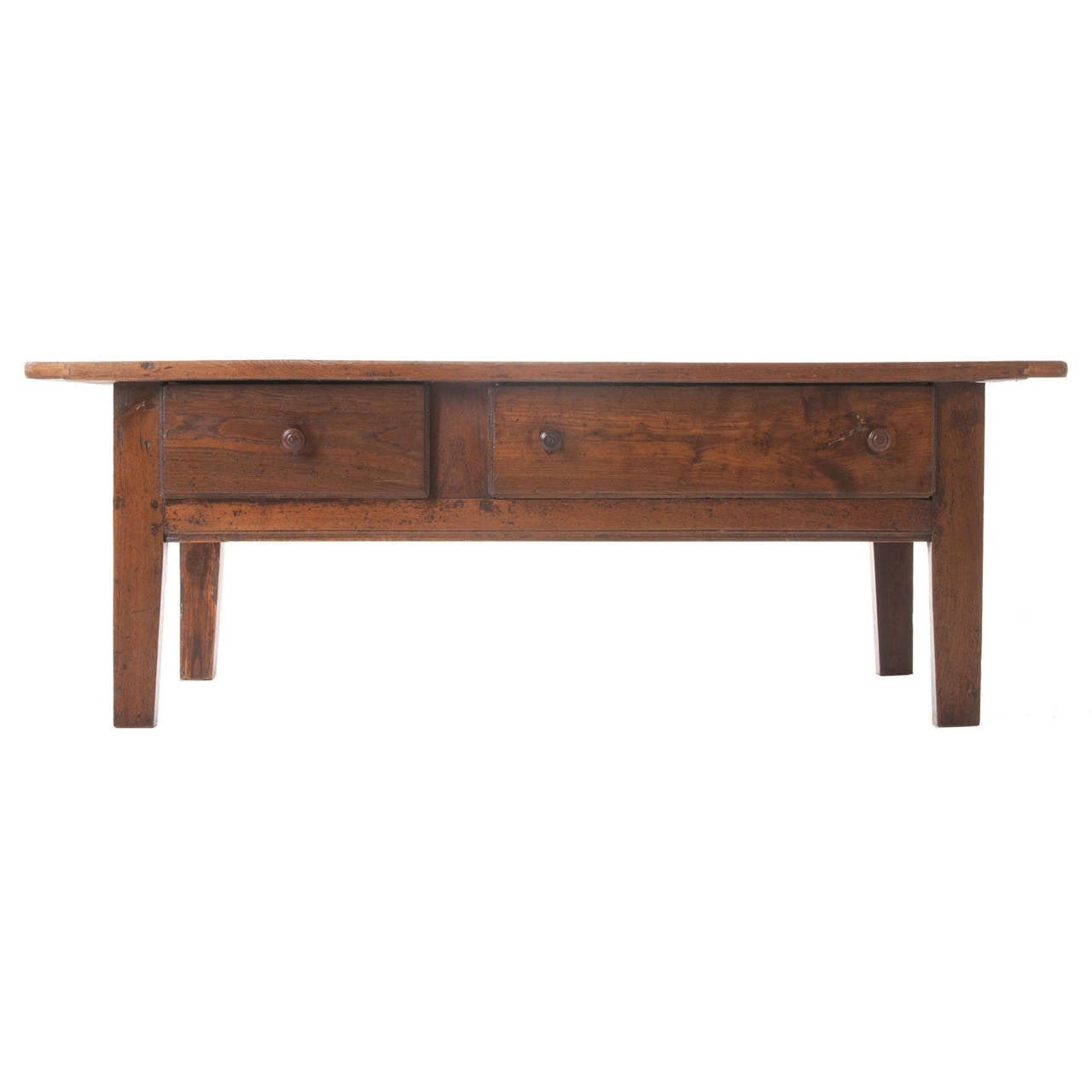 French 19th Century Chestnut Coffee Table For