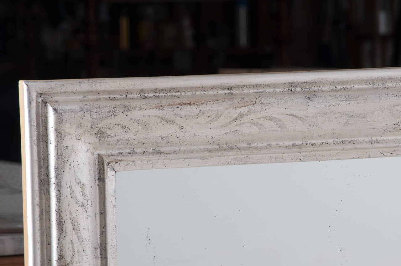Pair of French 19th Century Louis Philippe Mirrors In Good Condition For Sale In Baton Rouge, LA