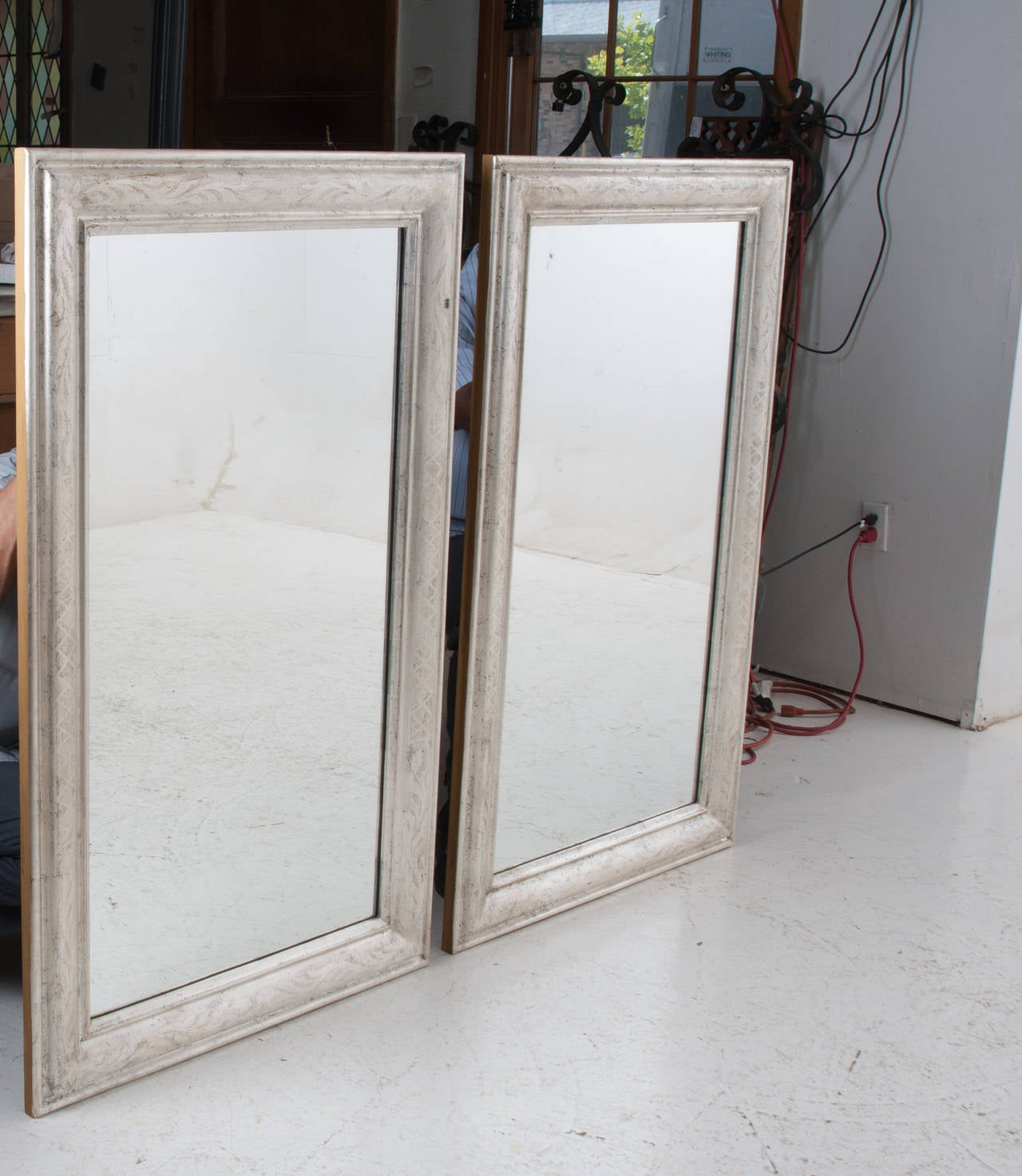 Pair of French 19th Century Louis Philippe Mirrors For Sale 3