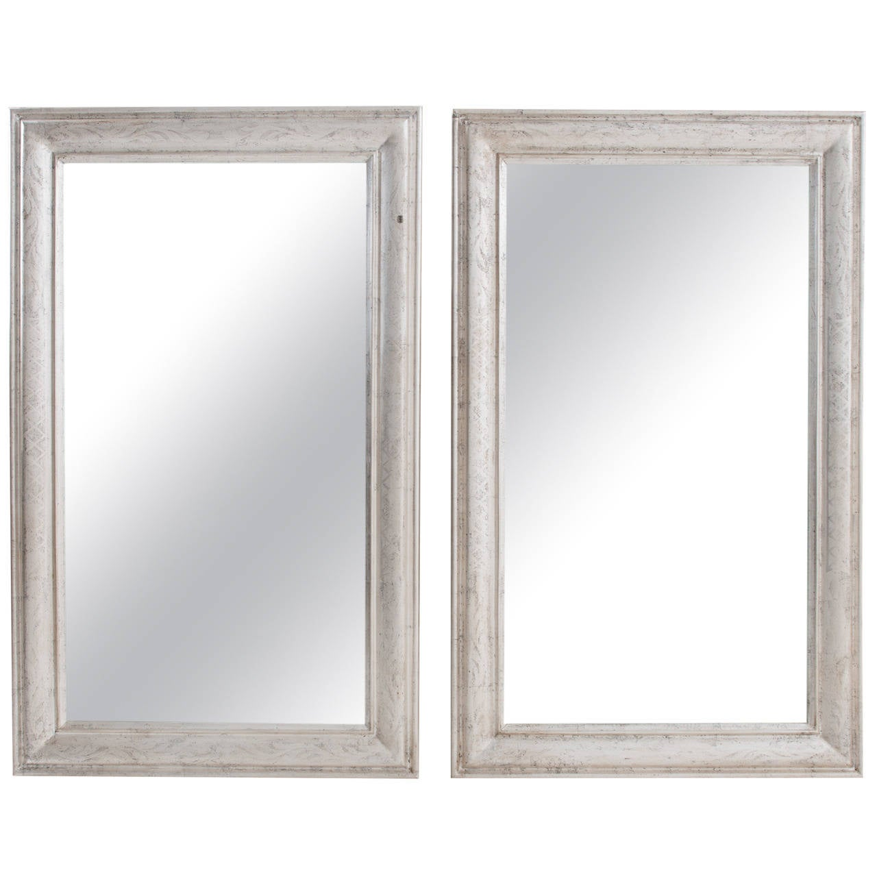 Pair of French 19th Century Louis Philippe Mirrors