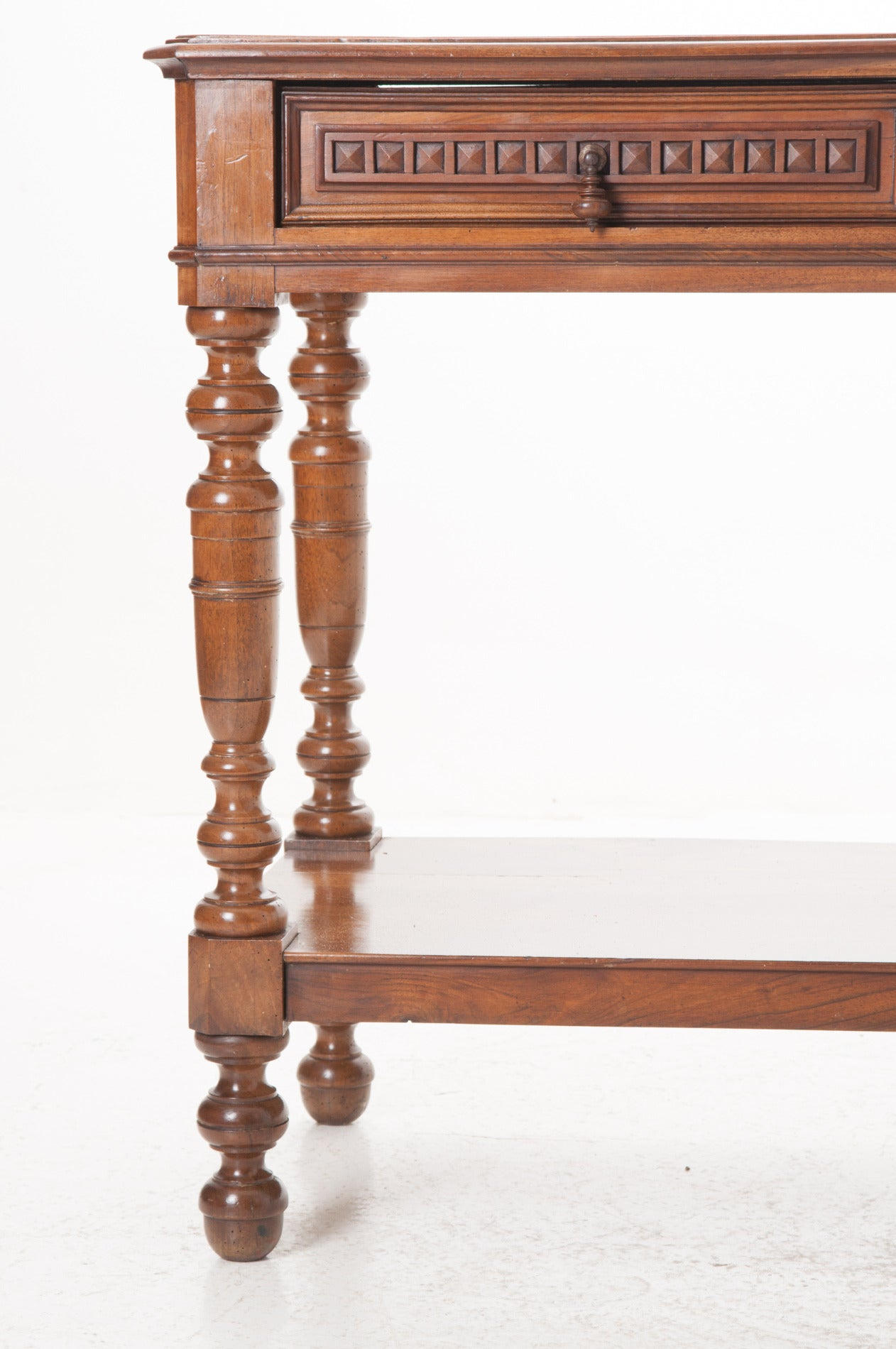French 19th Century Fruit Wood Console Table At 1stdibs
