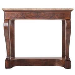 French 19th Century Restauration Console Table