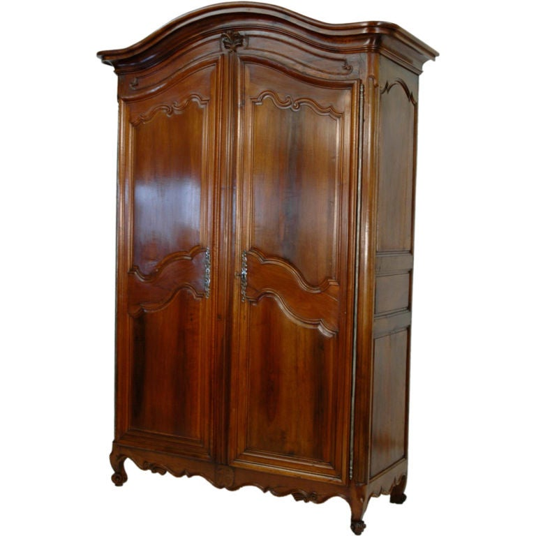 19th Century Walnut Armoire At 1stdibs