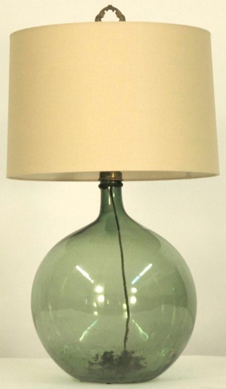 how to turn a wine bottle into a lamp