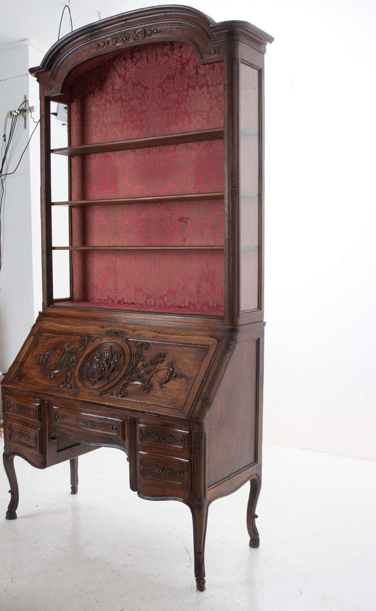French 19th Century Regence Style Walnut Secretaire For