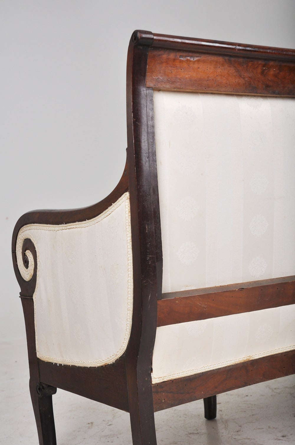 French 19th Century Restoration Period Settee For Sale At 1stdibs