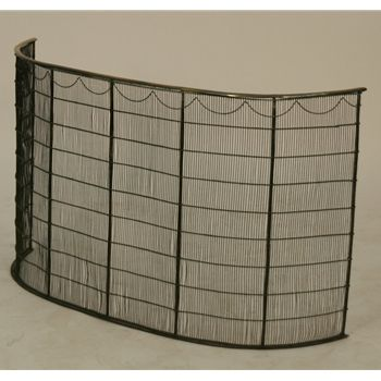 Large English 19th C Fireplace Screen For Sale 1