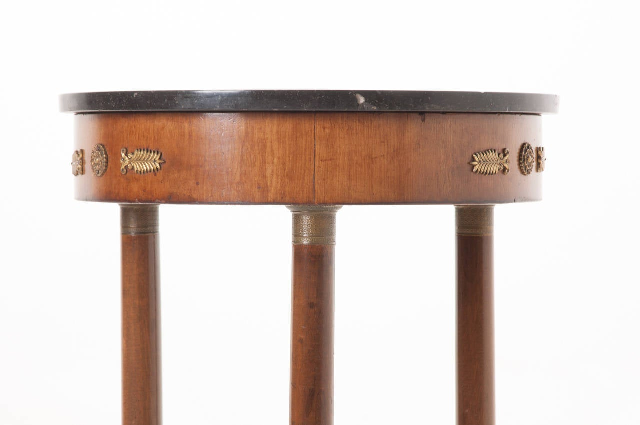 French 19th Century Petite Empire Gueridon Table For Sale 2