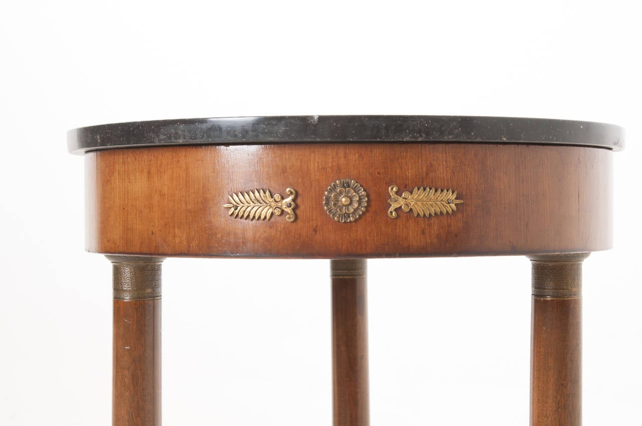 French 19th Century Petite Empire Gueridon Table For Sale 5
