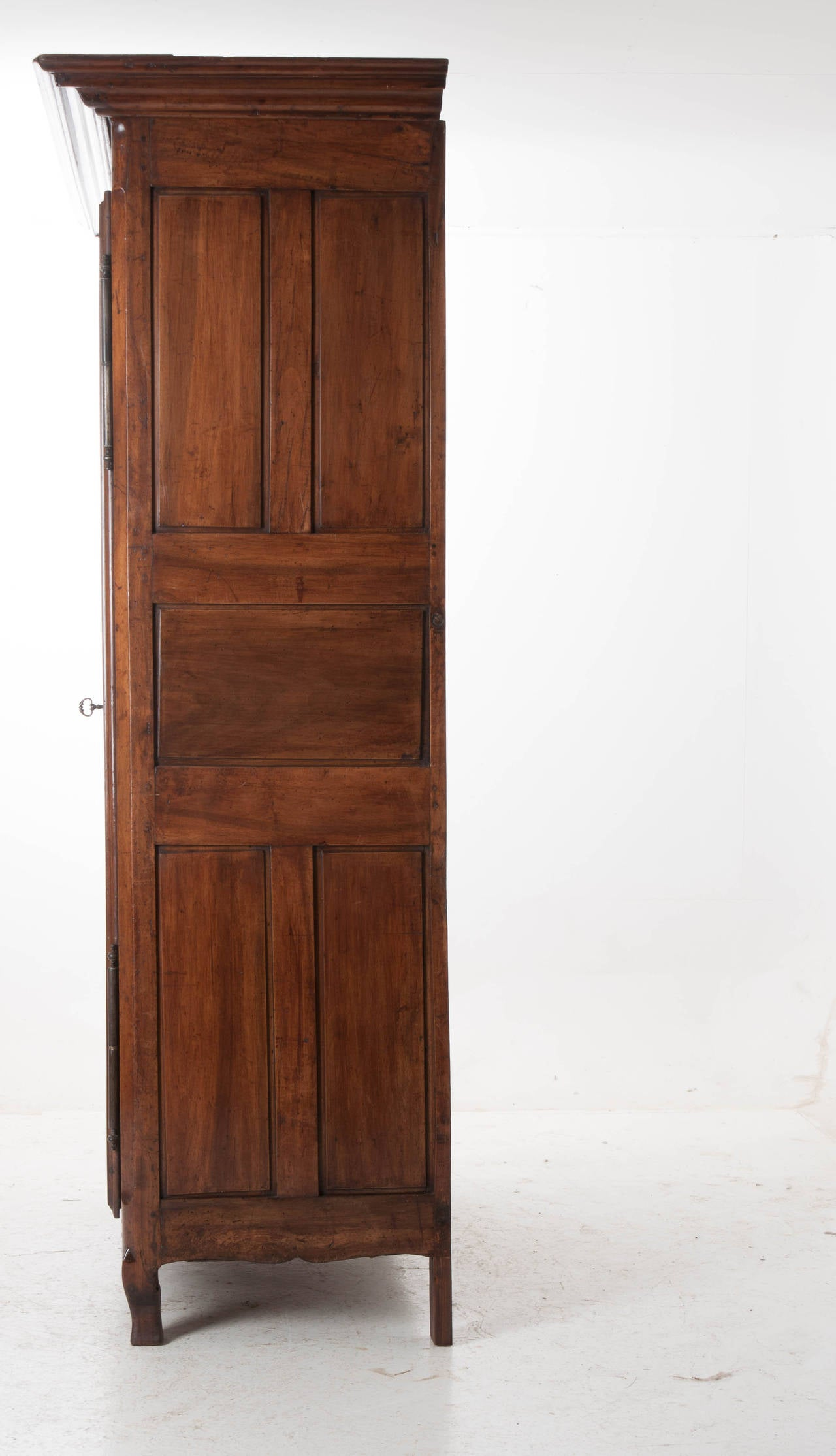 Massive French 19th Century Walnut Armoire At 1stdibs