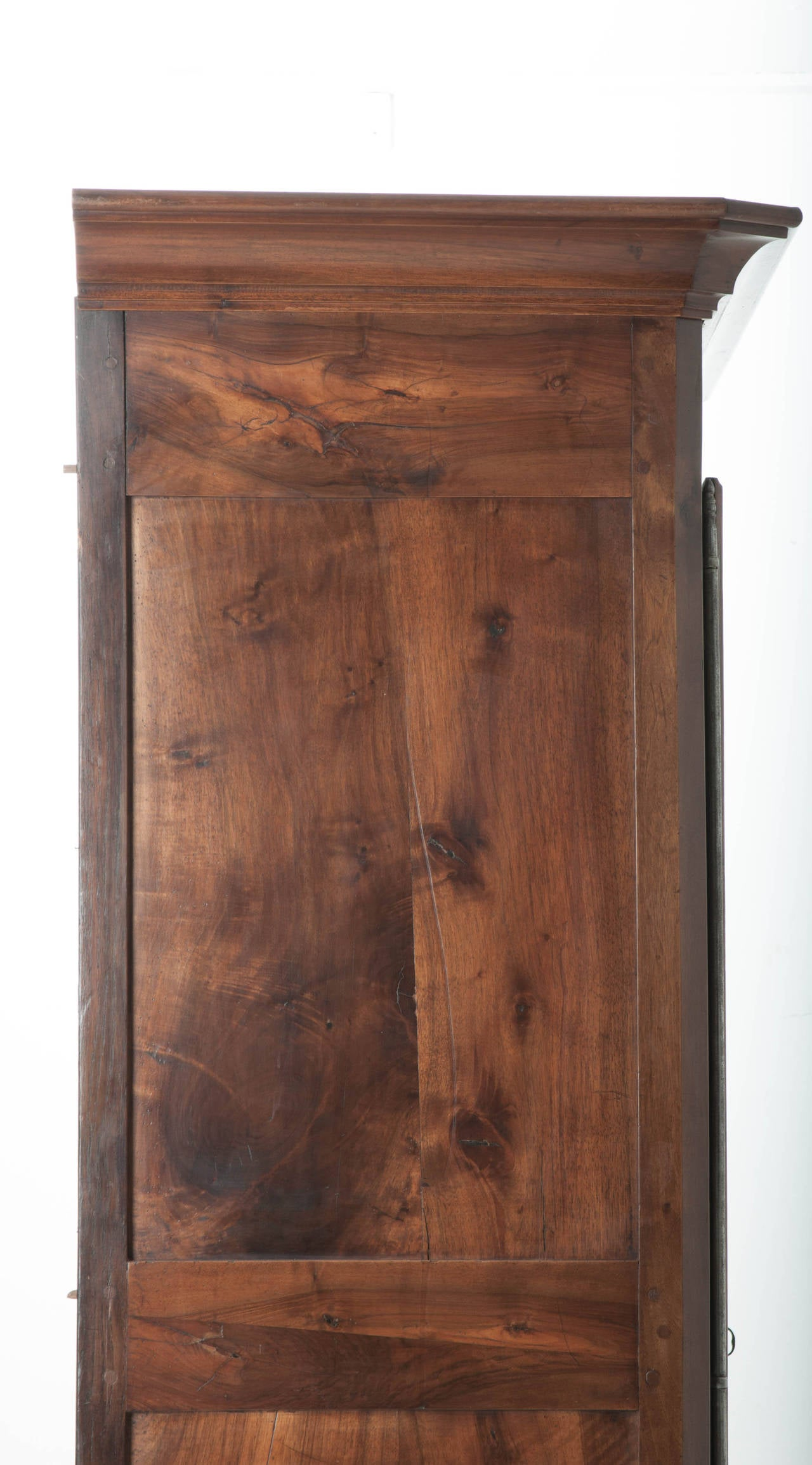 French 19th Century Carved Walnut Armoire For Sale 6
