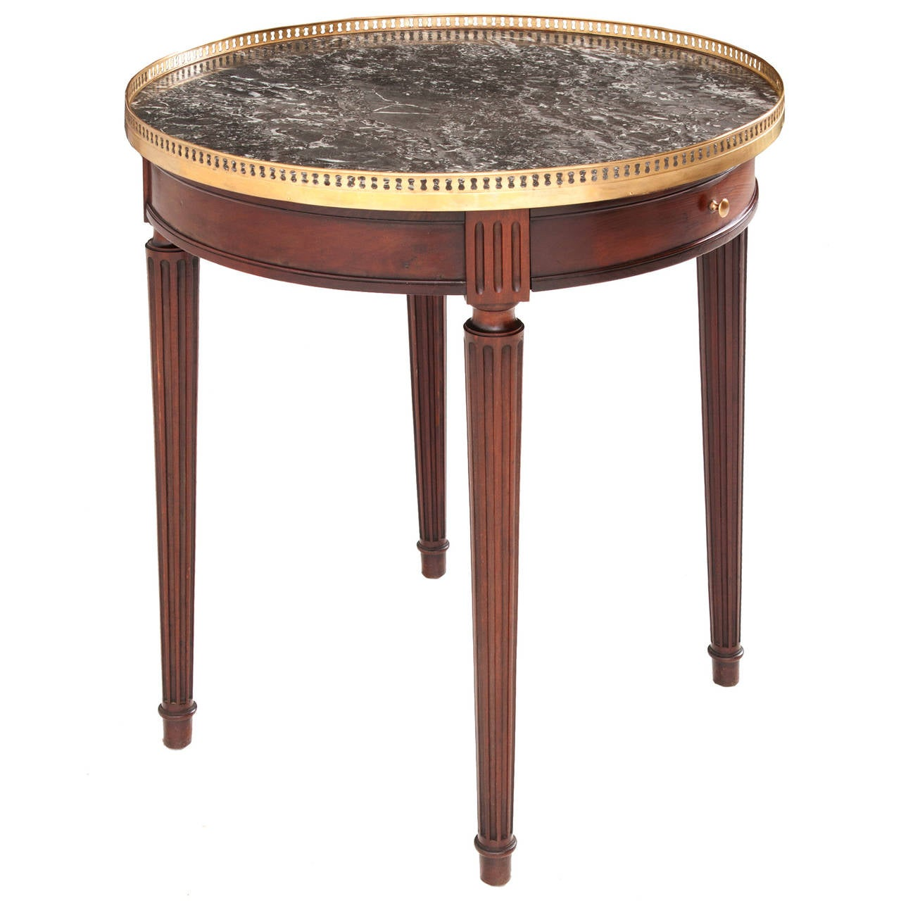 french 19th century louis xvi gueridon table at 1stdibs. Black Bedroom Furniture Sets. Home Design Ideas