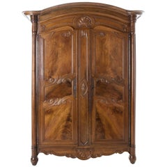 French 19th Century Walnut Armoire
